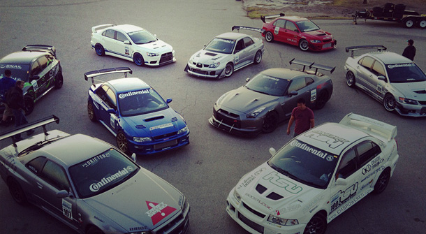 AWD Shootout & Super Lap Battle 2011