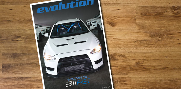 Evolution Magazine Cover