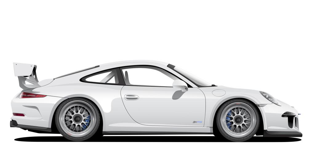 311RS Porsche 911 991 GT3 BBS E88 Michelin Pilot Sport Cup 2 Girodisc Brake Rotors Akrapovic titanium exhaust Voltex aerodynamic cup front fender extensions Ryan Gates Minnesota Motive Artworks