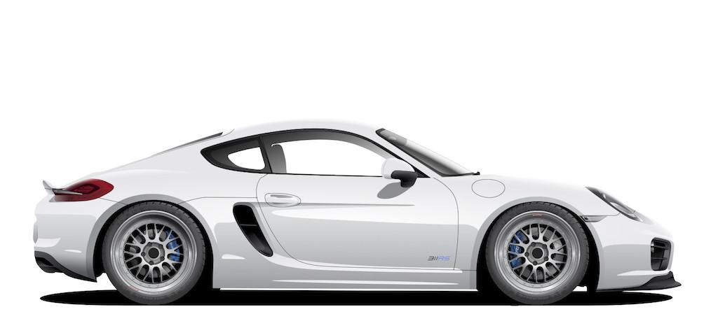 311RS Porsche 981 Cayman S Driver
