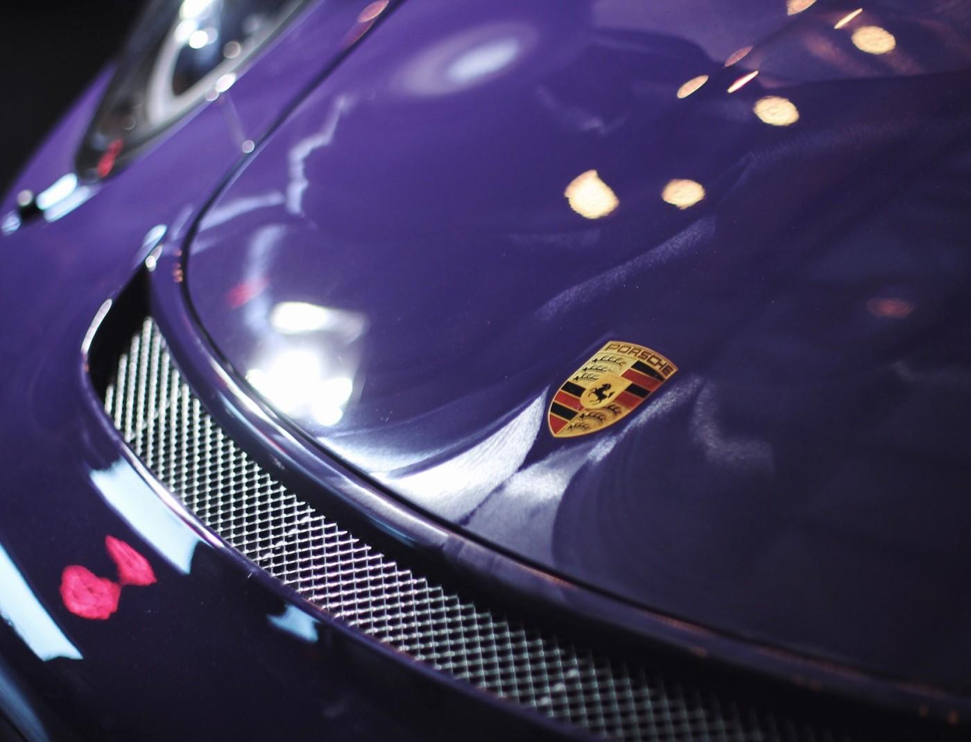New Porsche Preparation