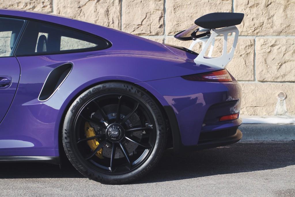 Porsche 991 GT3 GT3RS RS 311RS UV Ultra Violet Girots Garage Carsmotology detail clear bra Xpel alignment corner balance