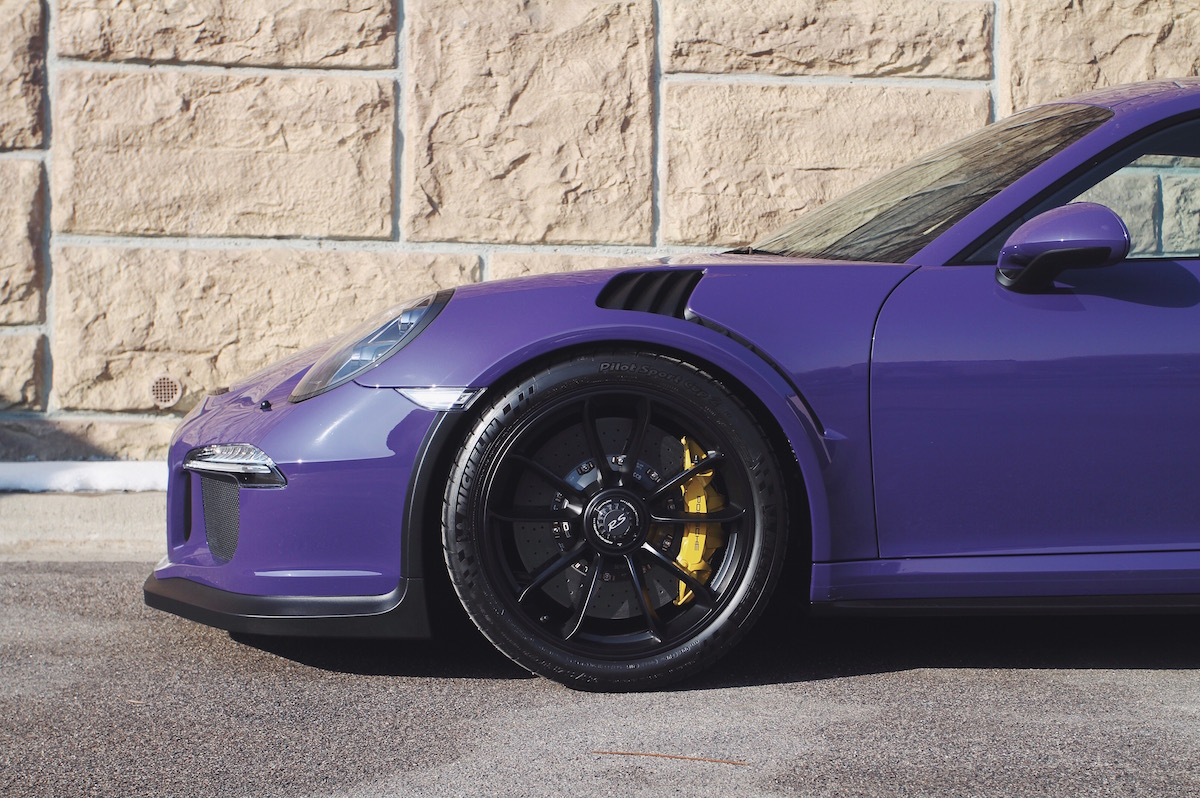 311RS Porsche 991 GT3 RS Ultra Violet Xpel Clear Bra