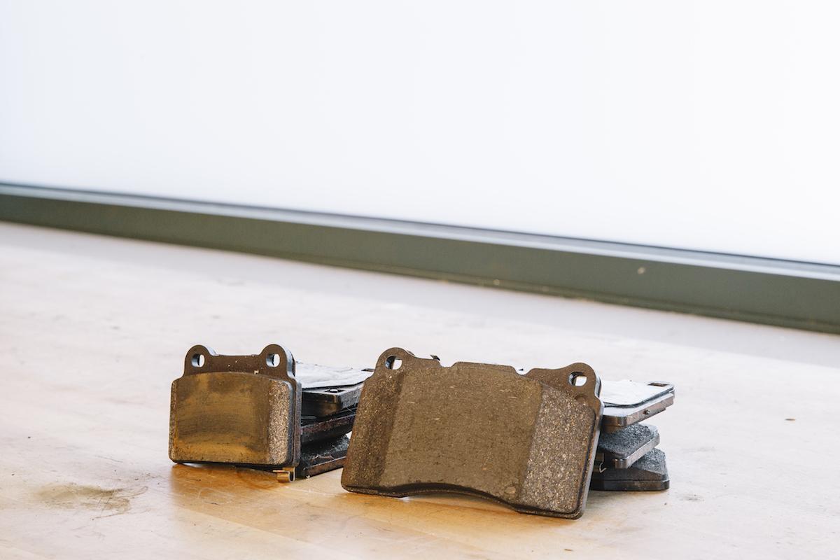 311RS Mitsubishi Evo X brake pads