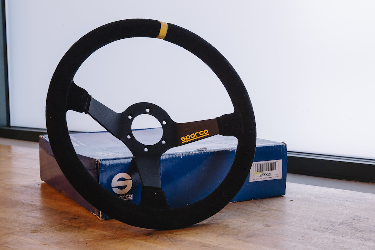 311RS Sparco MOD 345 steering wheel