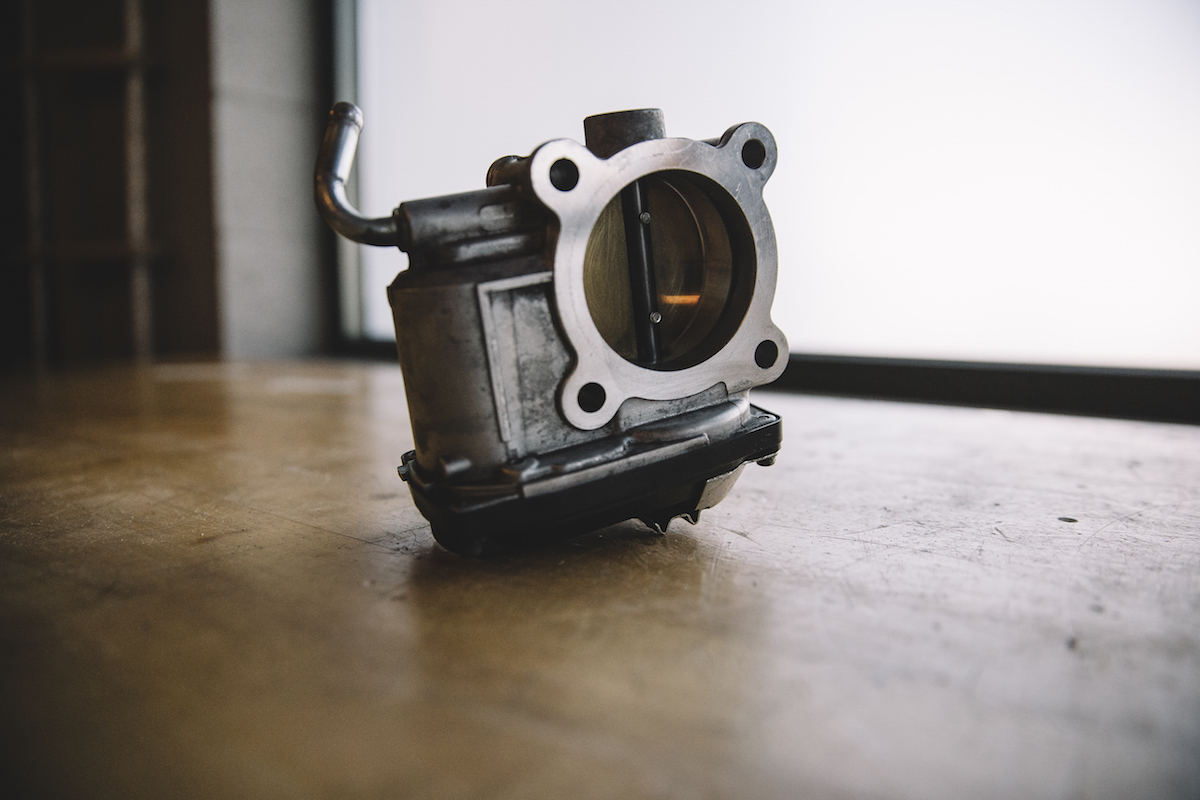 311RS Mitsubishi Lancer Evo X throttle body