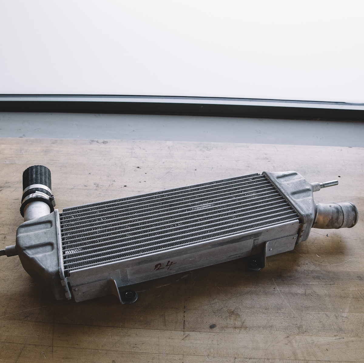 311RS Mitsubishi OEM Lancer Ralliart intercooler