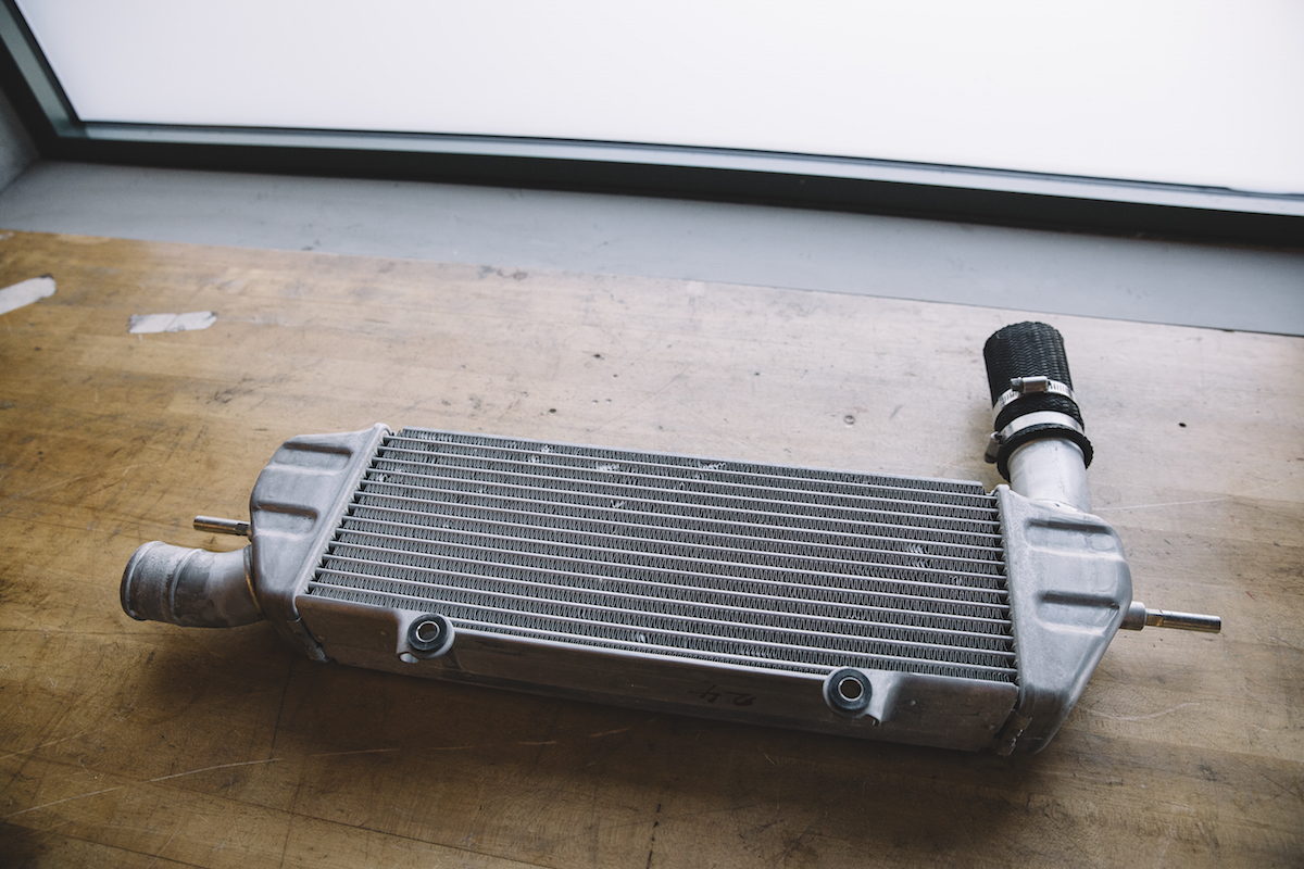 OEM Lancer Ralliart intercooler