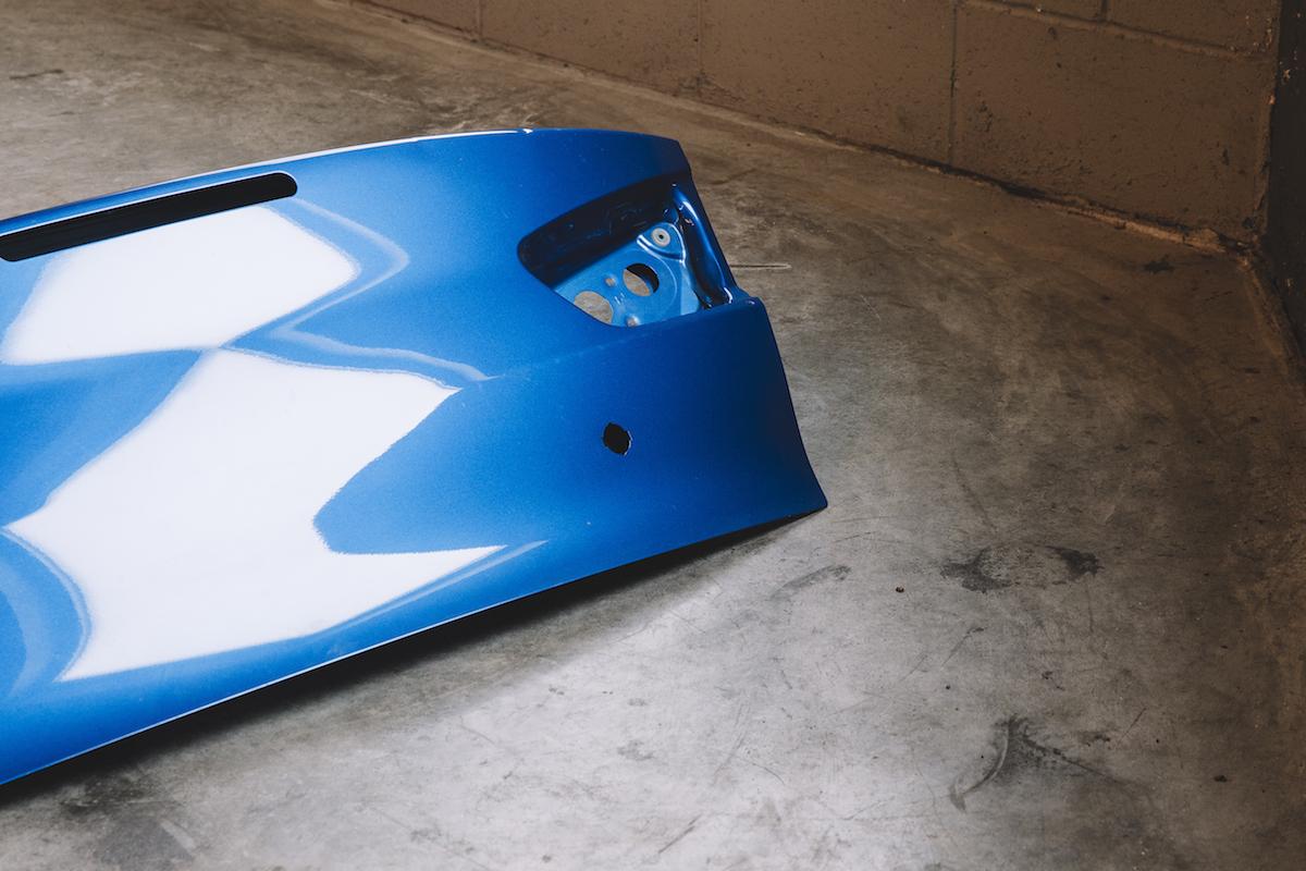 311RS Mitsubishi Evo X trunk Octane Blue