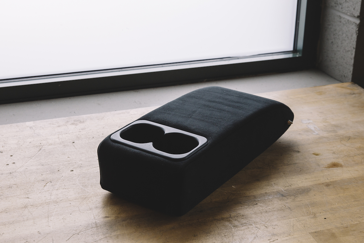 311RS Mitsubishi Evo X Lancer Ralliart arm rest