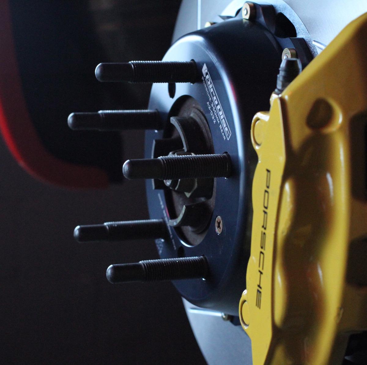 311RS Porsche 911 997 996 GT3 GT3 Tarrett wheel studs