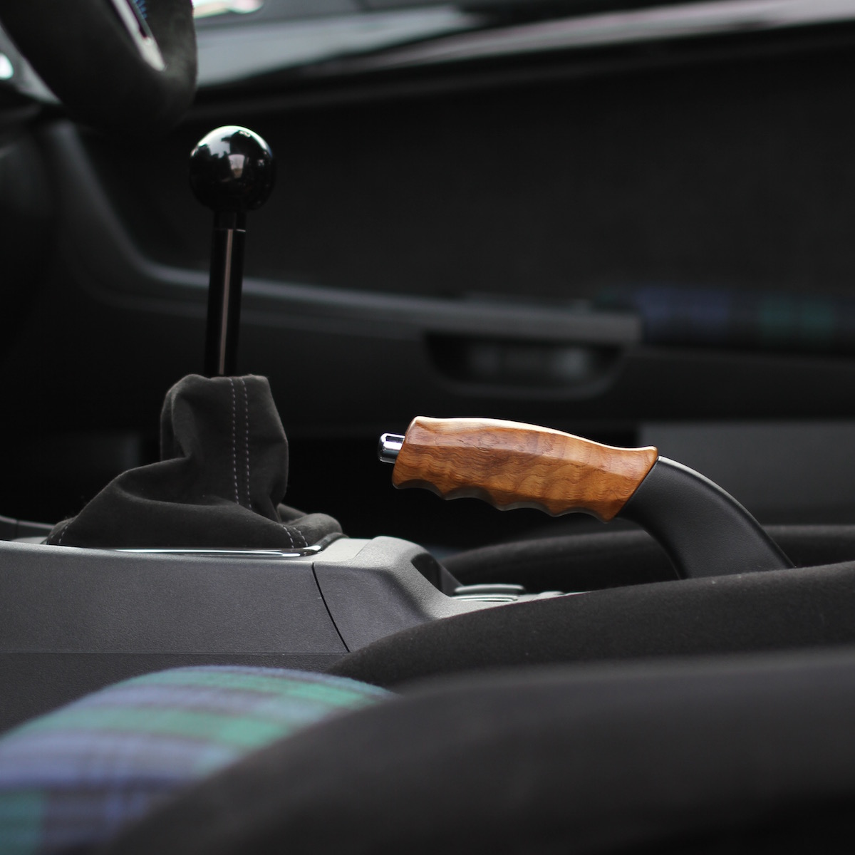 311RS Mitsubishi Evo EvoX wood wooden sculpture hand brake
