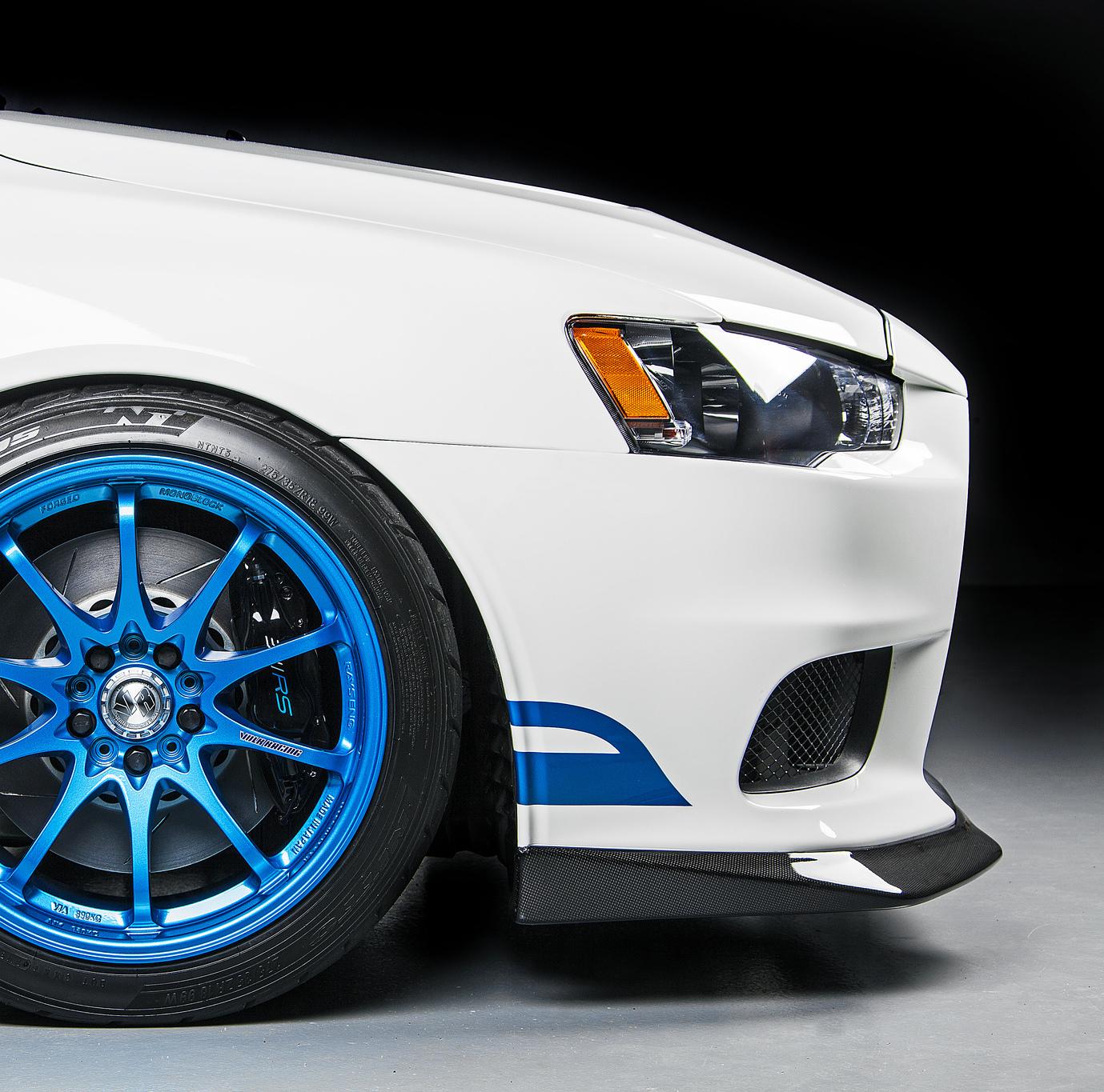 311RS Evo X JDP carbon fiber front lip