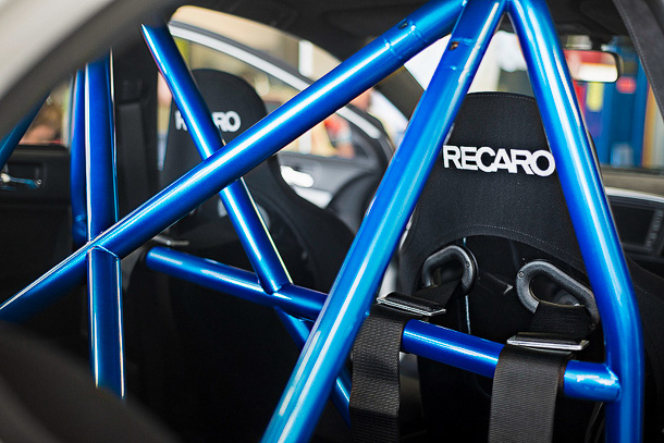 311RS roll bar Evo X