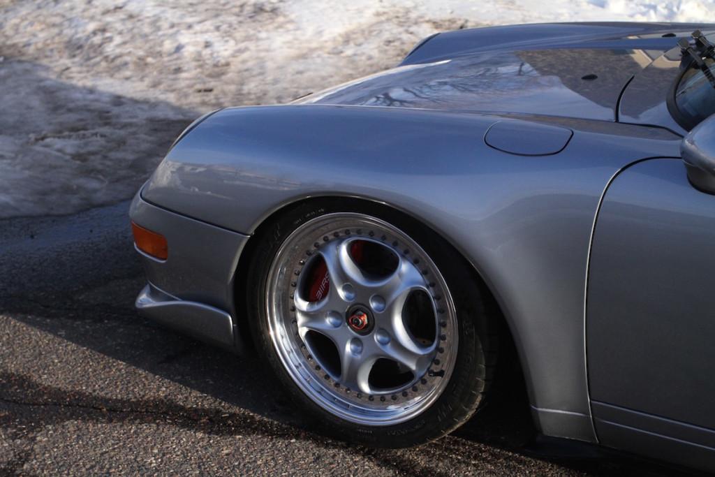 Porsche 993 311RS CupSport 3.8 Supercup Clubsport centerlock Speedline JRZ suspension Girodisc Michelin BBi Tarett BMC Fabspeed RS Pro Sport Cup 2