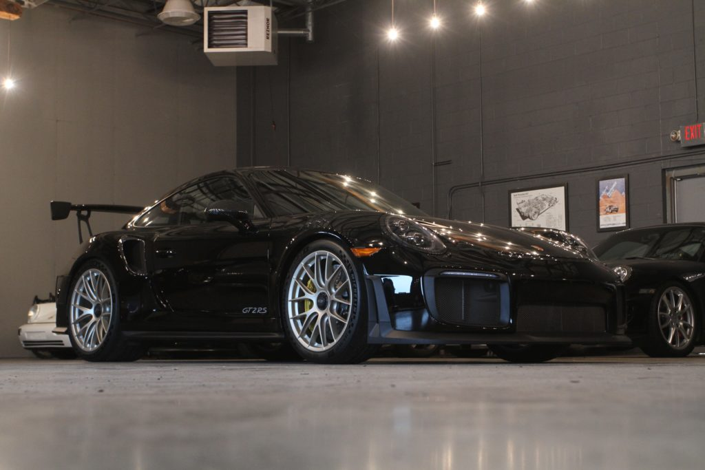 Porsche GT2RS at 311RS HQ 911 991 GT2 RS Weissach Black Gold MAgnesium Satin White Gold metallic BBS