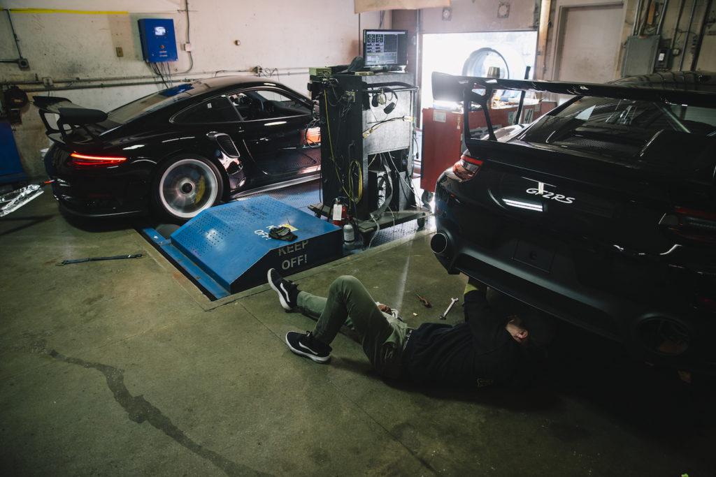 Porsche 911 GT2RS 311RS Peter Lapinski Mustang dyno RS Motors GT2 Mn Minnesota Burnsville Michelin Pilot Sport Cup 2 SportCup2R black 991 991.2 GT3 GT3RS