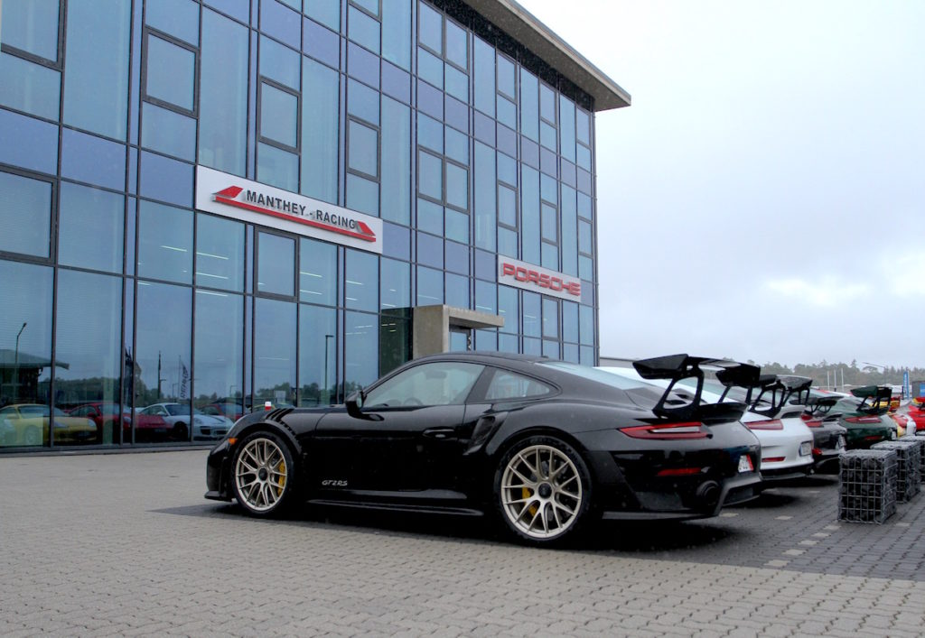 Porsche 911 GT2RS from 311RS at Manthey Racing