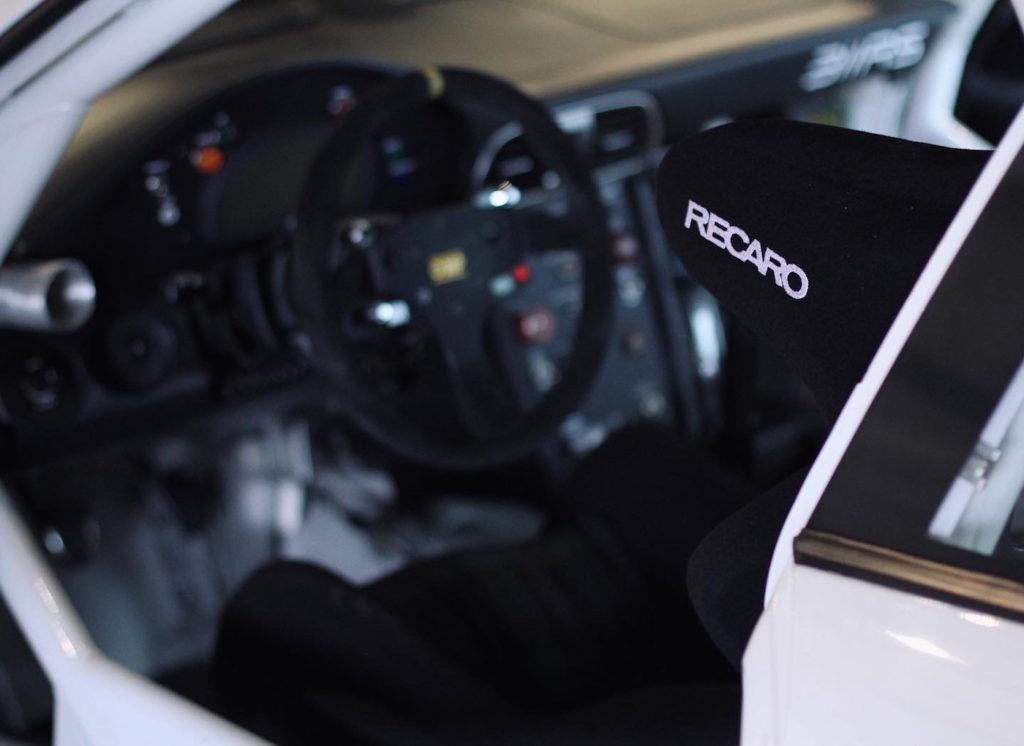 311RS Porsche 997 GT3 Cup by Ryan Gates Black Watch Tartan Recaro Pro Racer Hans
