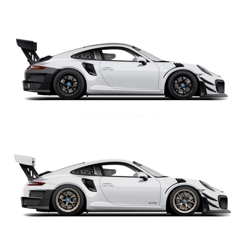 311RS Porsche 911 991 GT2RS Clubsport Motive Artworks