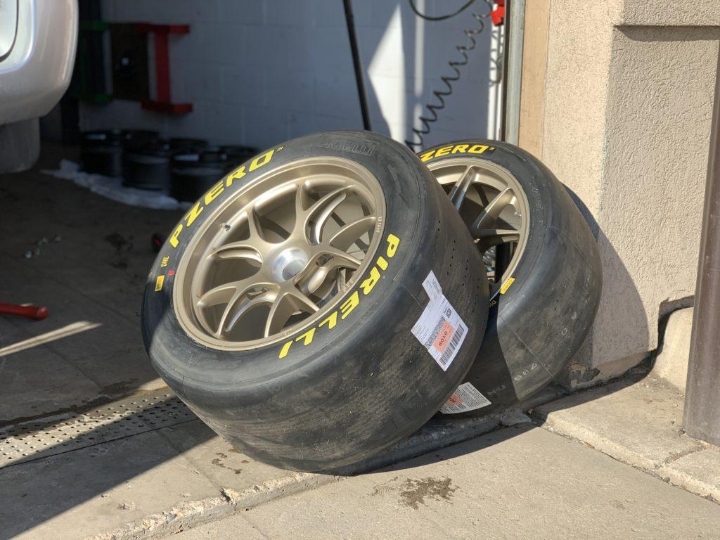 311RS Porsche 911 GT2RS Clubsport BBS Satin White Gold Metallic