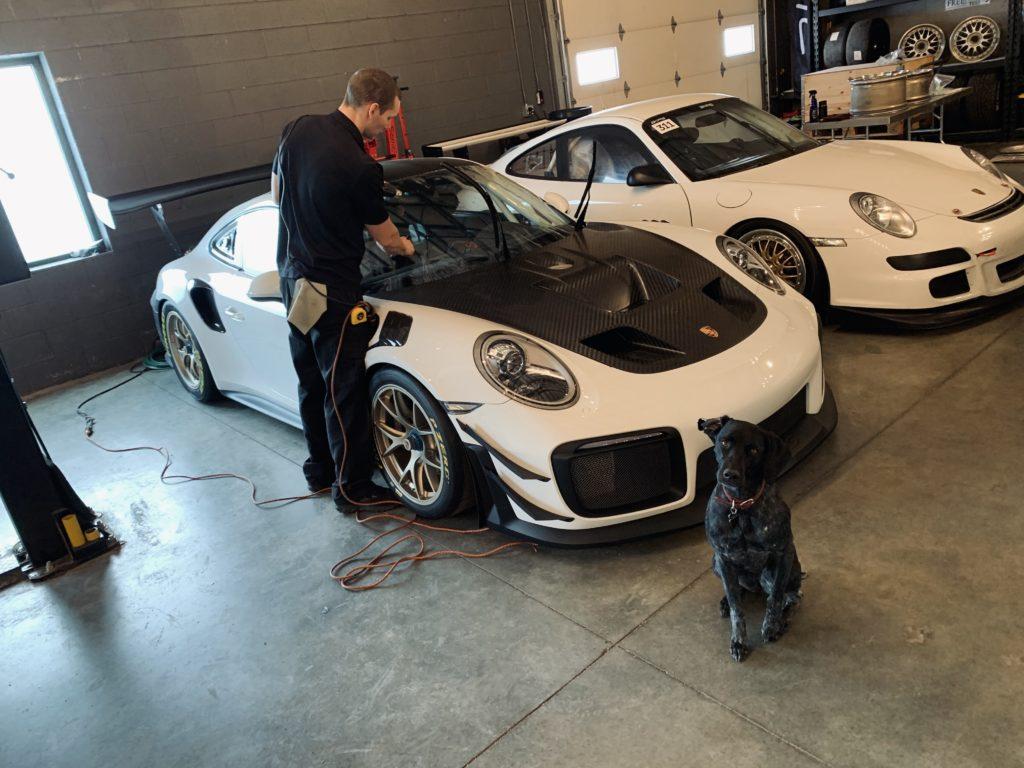 311RS Porsche 911 GT2RS Clubsport ClearPlex