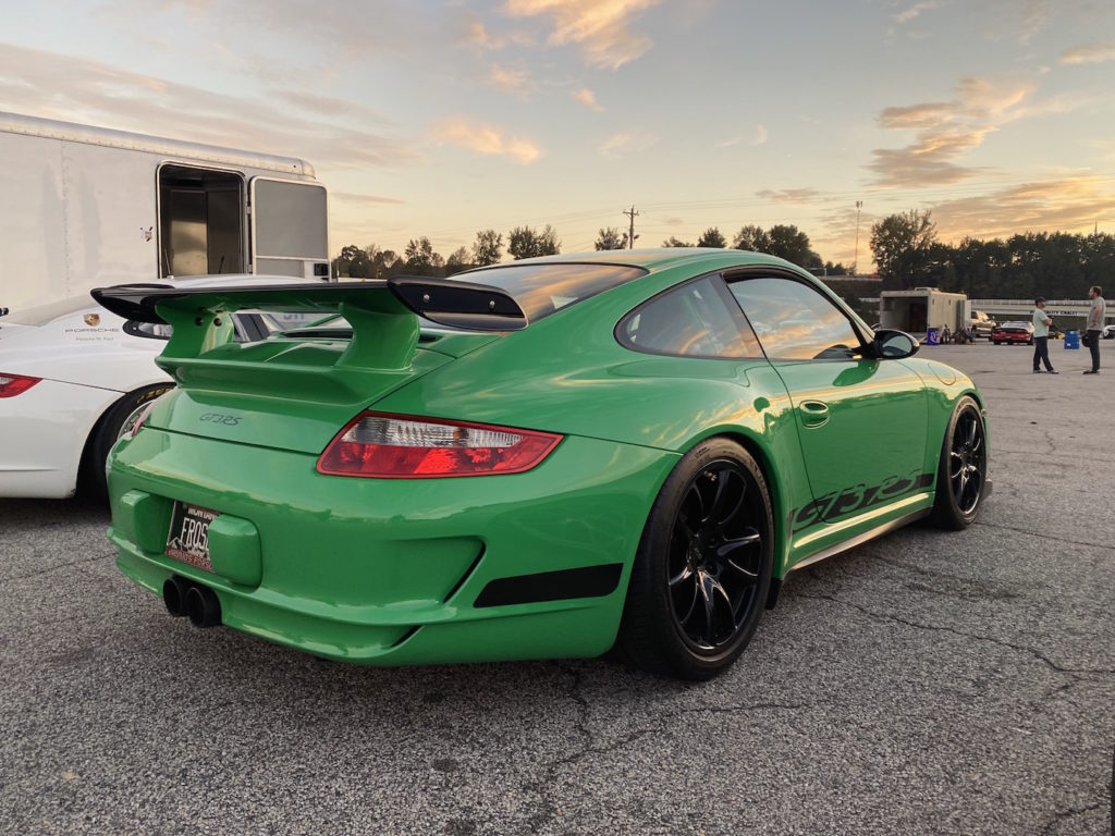 2008 311RS Motorsport Porsche 911 GT3RS Leh Keen Green Road Atlanta sunset 997.1